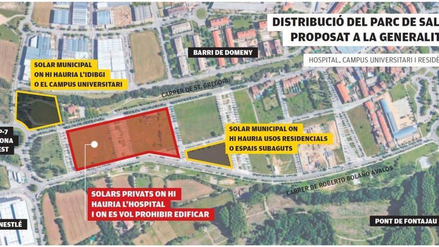 JxCat vol blindar Domeny per  al Trueta i prohibir nous edificis
