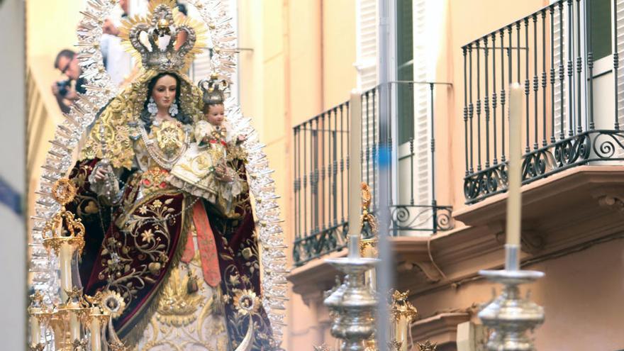 La Virgen de los Remedios recorrerá el Centro este domingo a partir de las 21.00 horas
