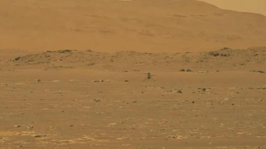 El Ingenuity de la NASA fa història i realitza el seu primer vol a Mart