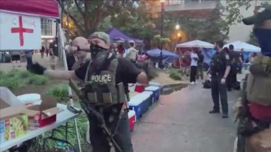 Un muerto por disparos durante una manifestación en Louisville, Kentucky