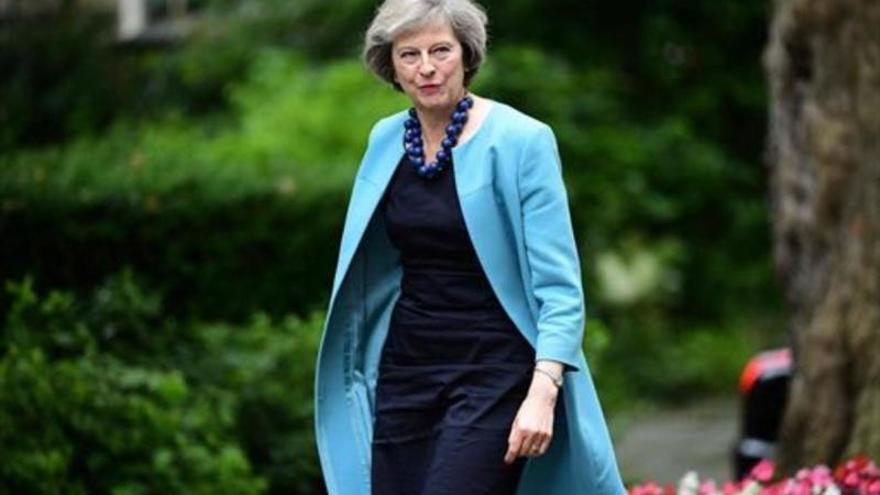May comunicará a Isabel II que formará Gobierno en Reino Unido