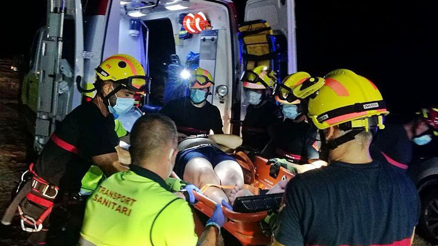 Espectacular rescate en Torrevieja