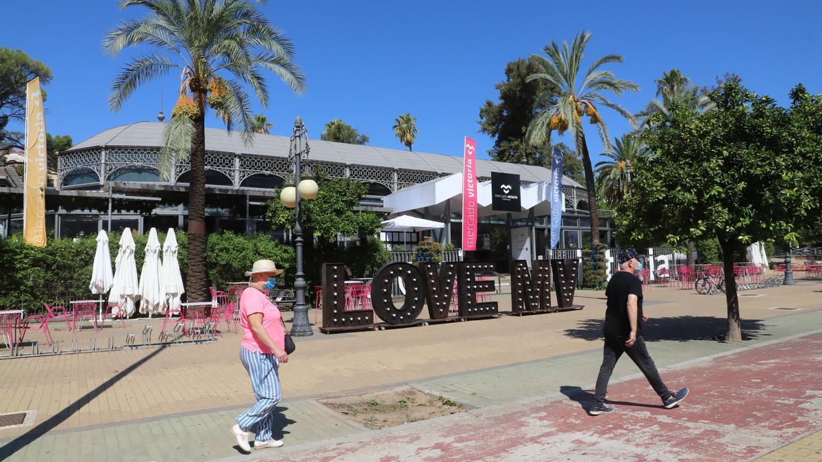 Imagen de archivo del Mercado Victoria