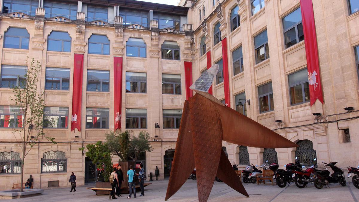 Imagen del campus de Alcoy de la Universitat Politècnica de València.