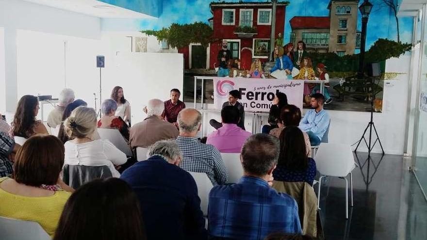 Jorge Suárez repetirá como candidato de la marea a la Alcaldía de Ferrol