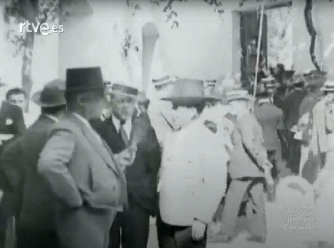 1915 Fotograma del documental de la becerrada del Club Guerrita
