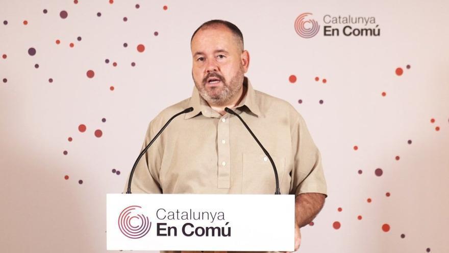 """Mena: """"L'Espanya d'Ayuso és tan estreta que ja no hi cap ni tan sols el rei"""""""