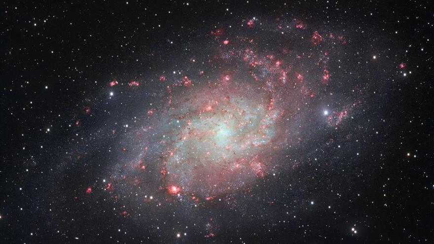 Descubren la galaxia más distante de características similares a la Vía Láctea