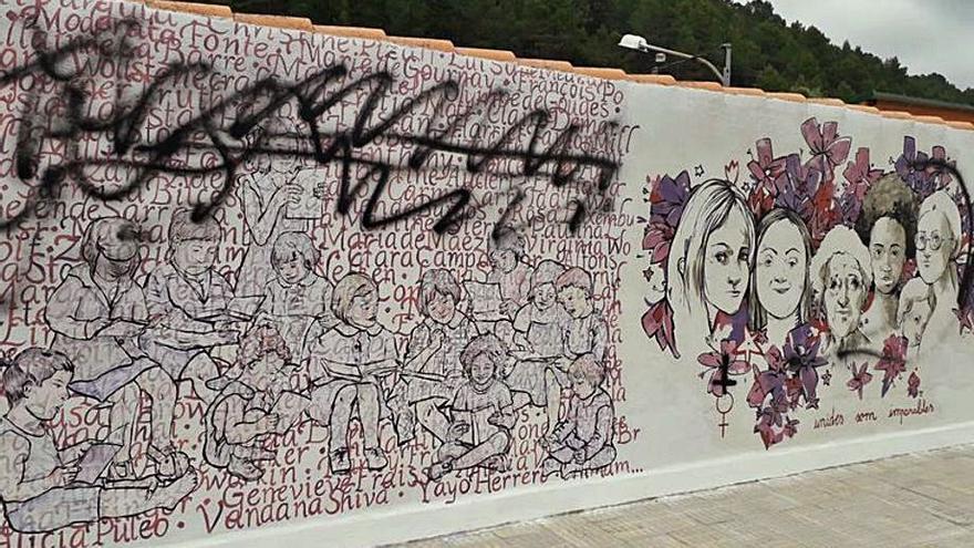 El destrozo en el mural de Eslida, en 'La Panderola'
