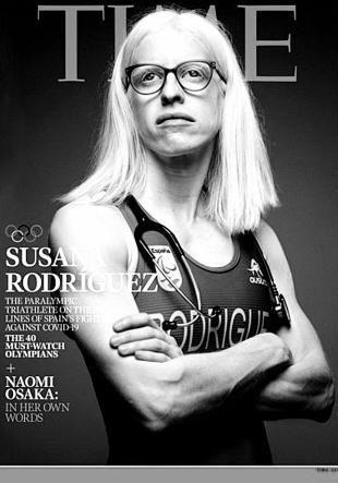 A portada da doutora Rodríguez