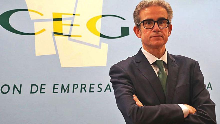 Díaz Barreiros renuncia a la presidencia de la patronal gallega y pide nuevas elecciones