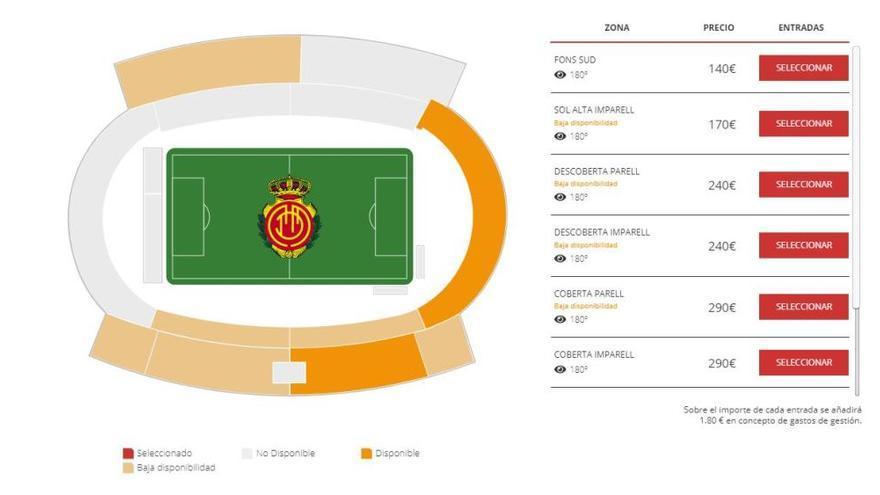 Letzte Karten für Gastspiel des FC Barcelona auf Mallorca