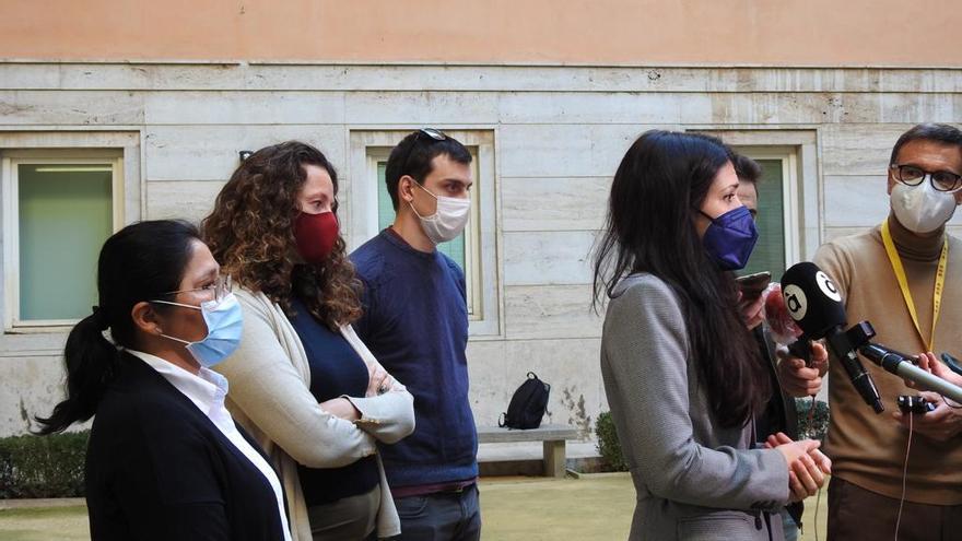 Los cuatro diputados críticos con Lima avalan el cambio en la portavocía