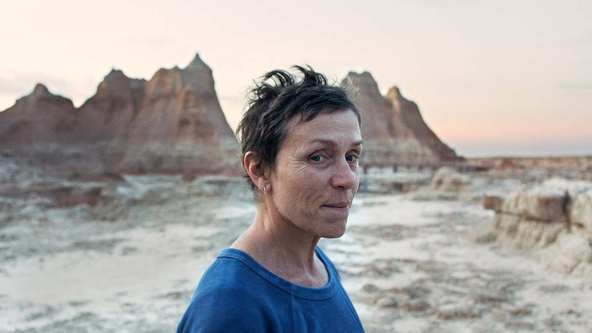 Fotograma de la pel·lícula 'Nomadland', guanyadora de l'Oscar.