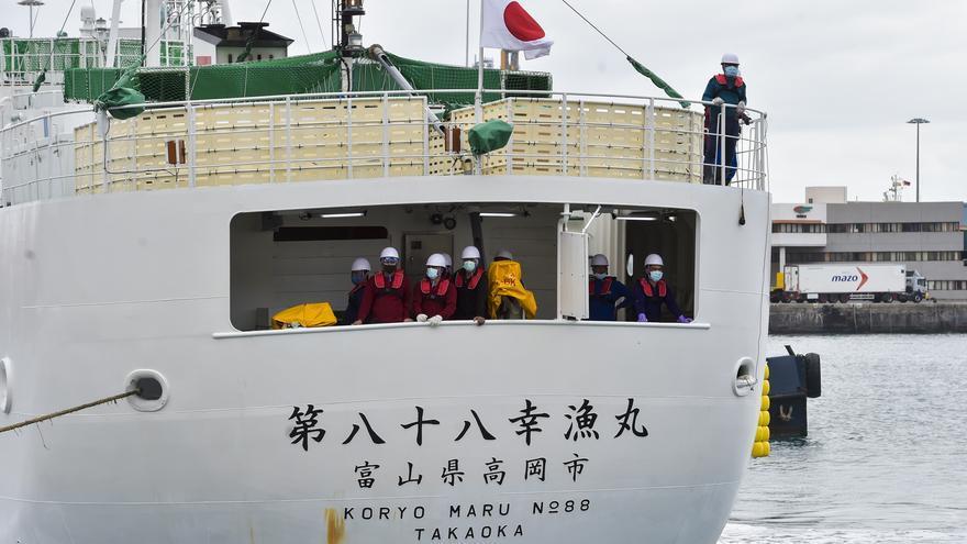 Japón estrena en el Puerto el atunero 'Koryo Maru 88'