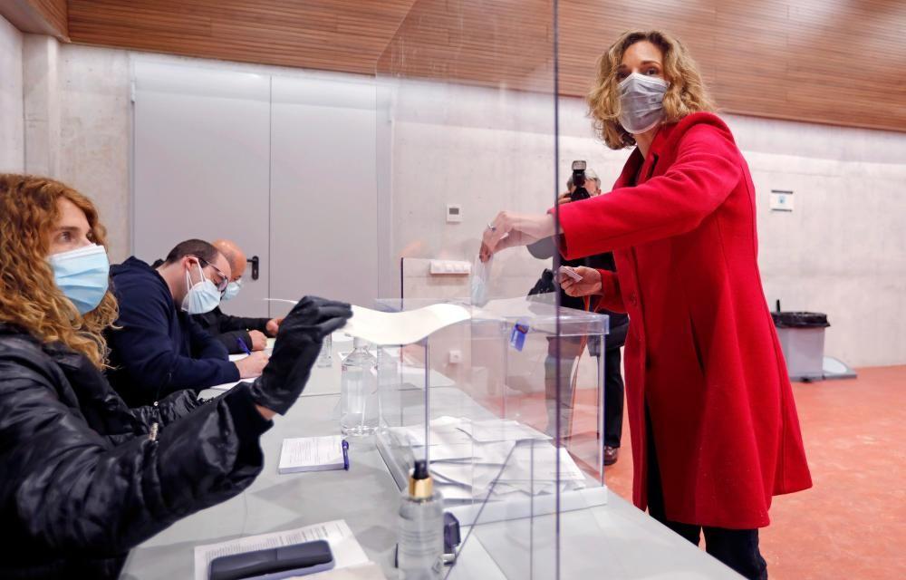 La candidata del PDeCAT a la Generalitat, ...