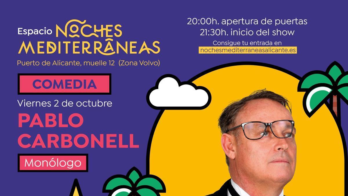 Sorteo entradas concierto Pablo Carbonell