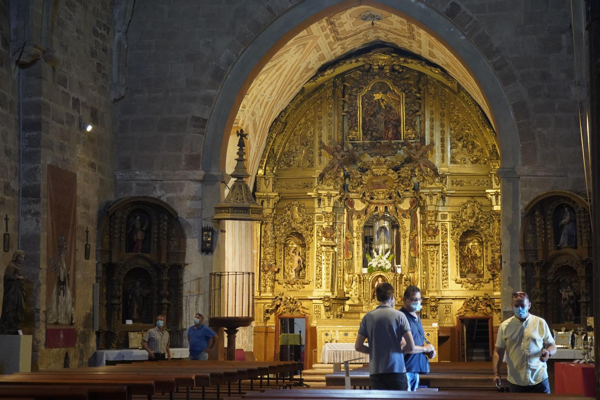 Las mejores imágenes de los tesoros que esconde la iglesia de La Hiniesta