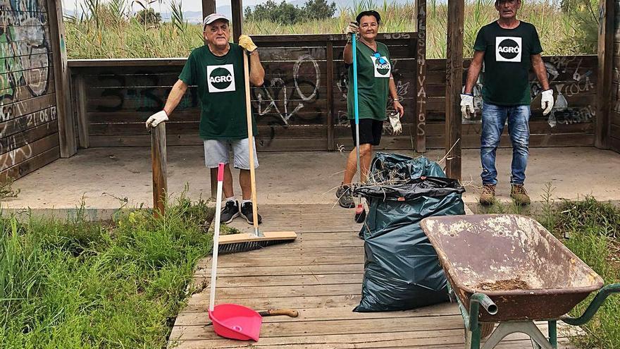 Voluntariado en Sagunt «hasta para lo más básico»