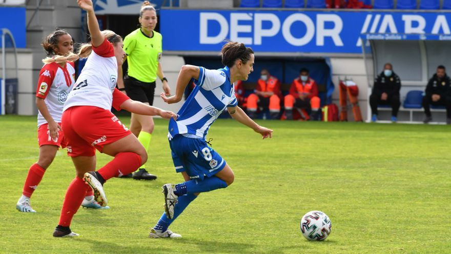 Alba Merino firma otro año más con el Dépor Abanca