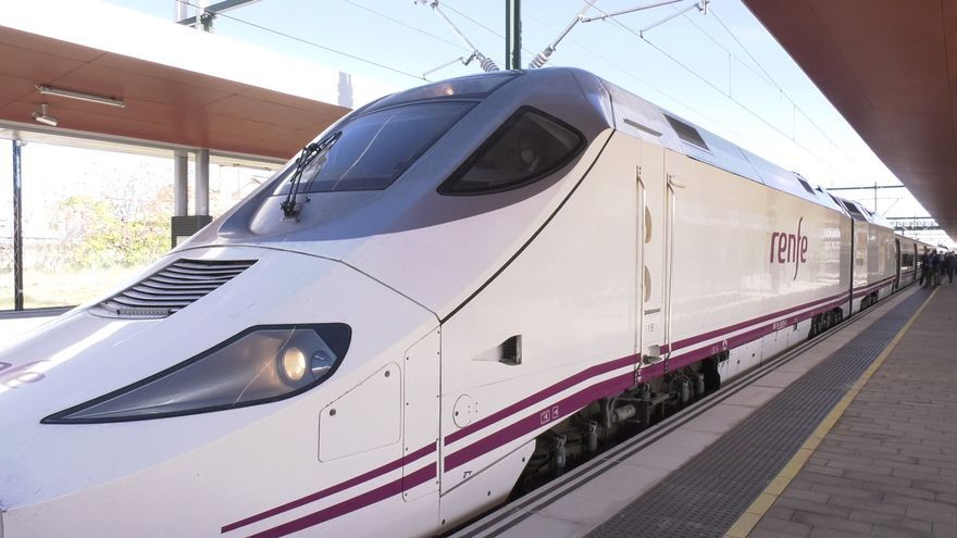 VÍDEO | Zamora estrena el AVE hasta Sanabria