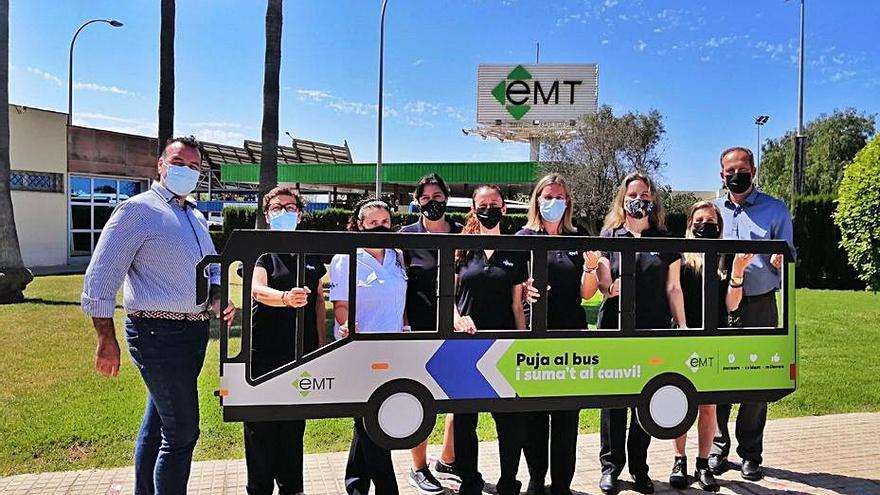 La EMT incorpora las primeras conductoras procedentes del bolsín