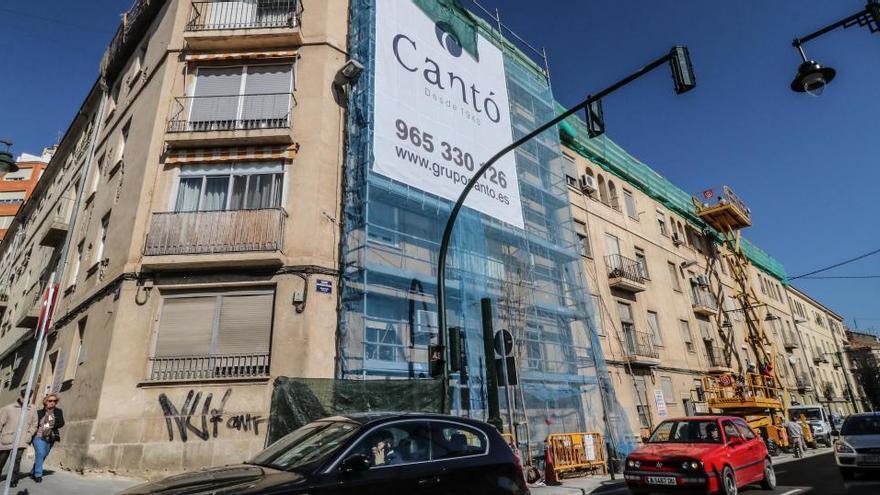 Finaliza la última fase de la rehabilitación de viviendas del grupo Sant Jordi en Alcoy