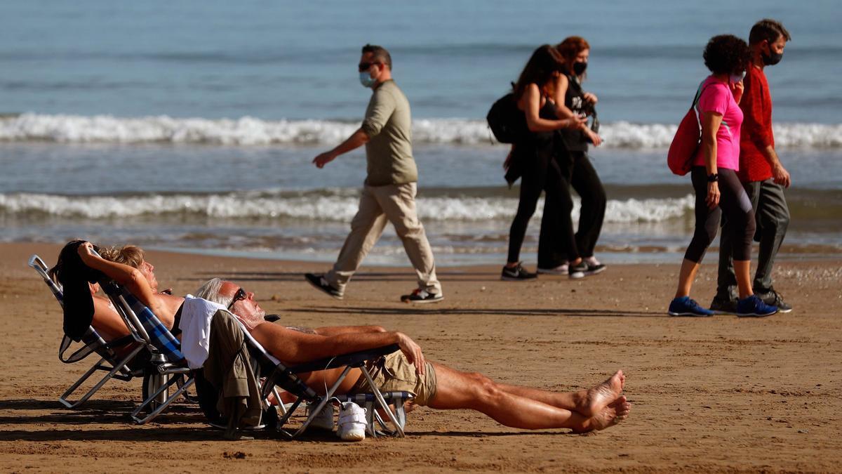 El tiempo en Valencia hoy, 27 de enero, según el pronóstico de la Aemet.