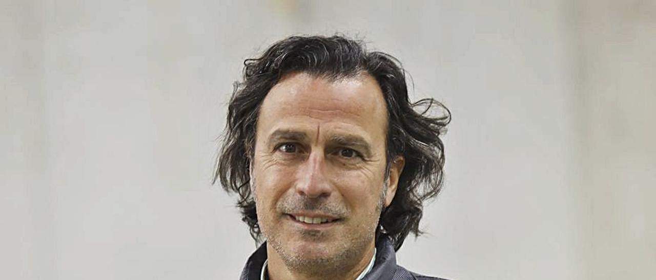 Antonio Virgili, ayer,  en Oviedo.   Luisma Murias