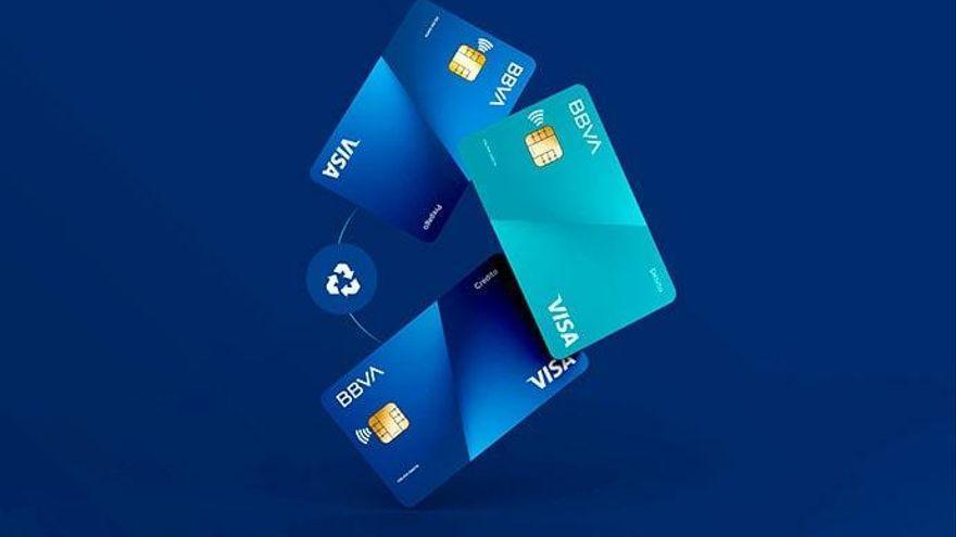 BBVA recicla cerca de 90.000 tarjetas en España en apenas tres meses