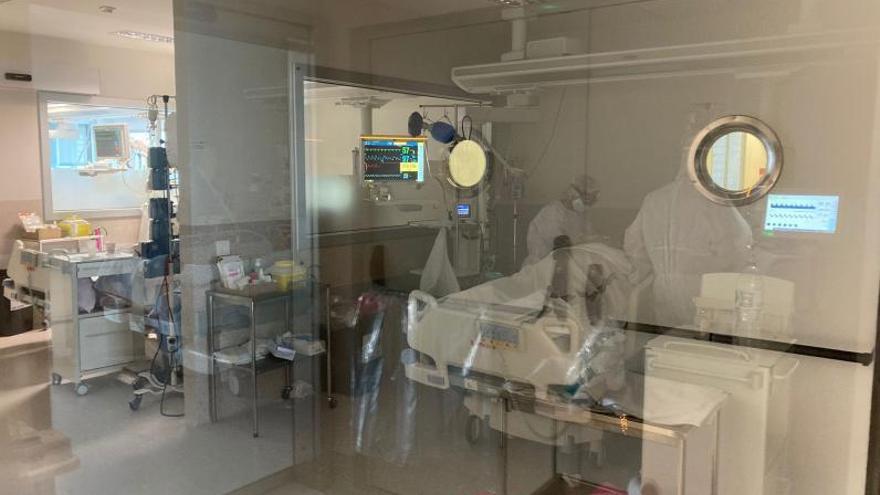 Los hospitales tienen a 11 embarazadas ingresadas por covid, dos en UCI
