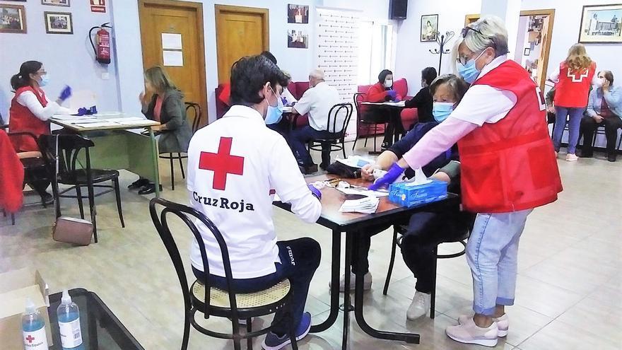 Satisfacción entre el colectivo de mayores por el programa de envejecimiento saludable de Cruz Roja