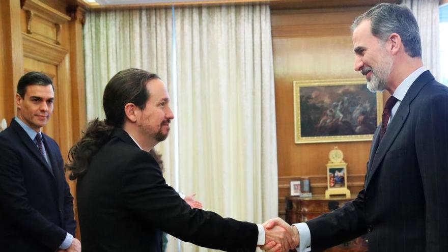 Pablo Iglesias irá con Felipe VI a la toma de posesión del presidente de Bolivia