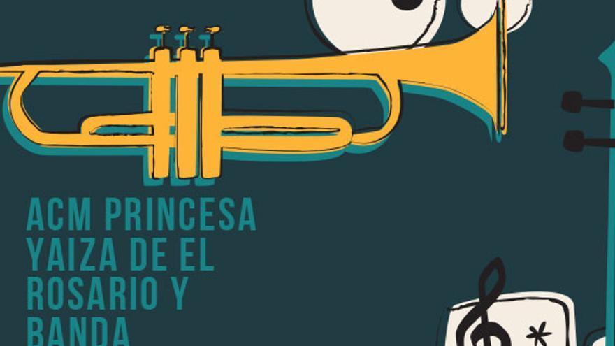 ACM Princesa Yaiza de El Rosario y Banda Municipal de Pájara