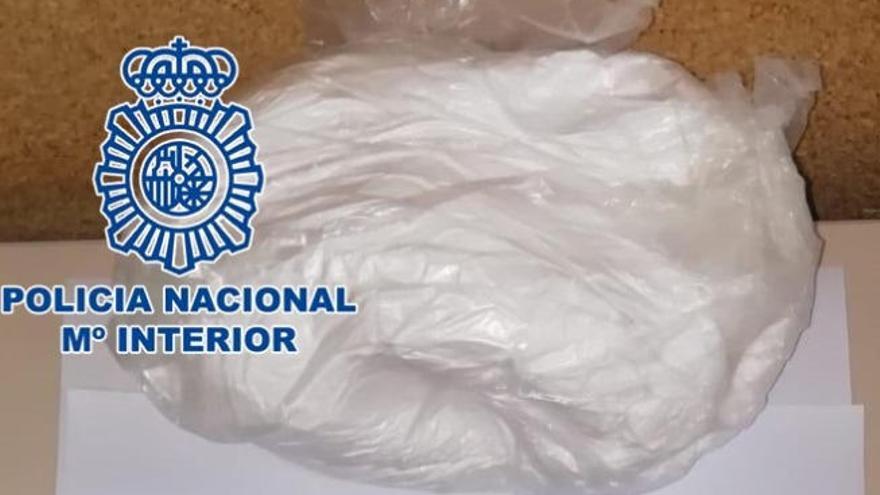 Detenido en Gran Canaria en plena calle con un kilo de droga