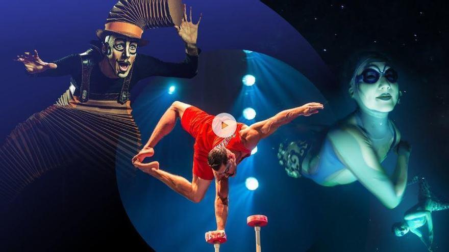 Función inédita y gratis del Circo del Sol a través de internet