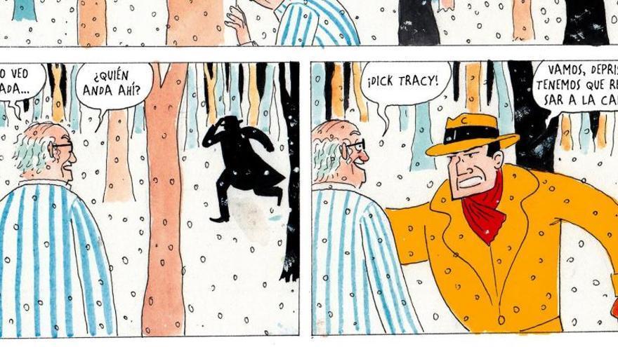 Tyto Alba reconstruye en viñetas los sueños del insomne Federico Fellini