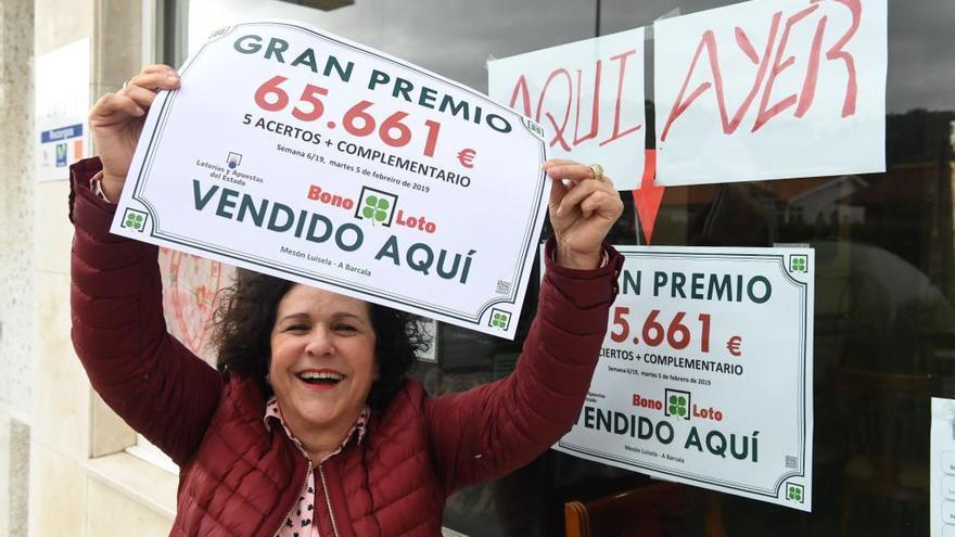 Un apostante de Cambre gana 65.000 euros en la Bonoloto