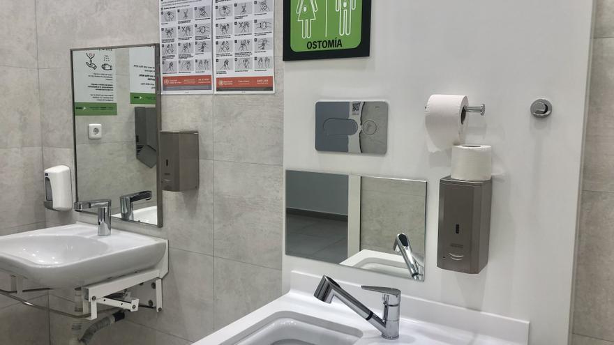 Flughafen Mallorca richtet weitere Toiletten zum Entleeren von Stoma-Beuteln ein