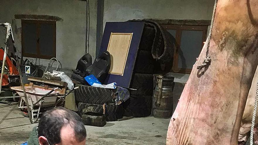 El alcalde de Cangas de Onís no falla en Samartín