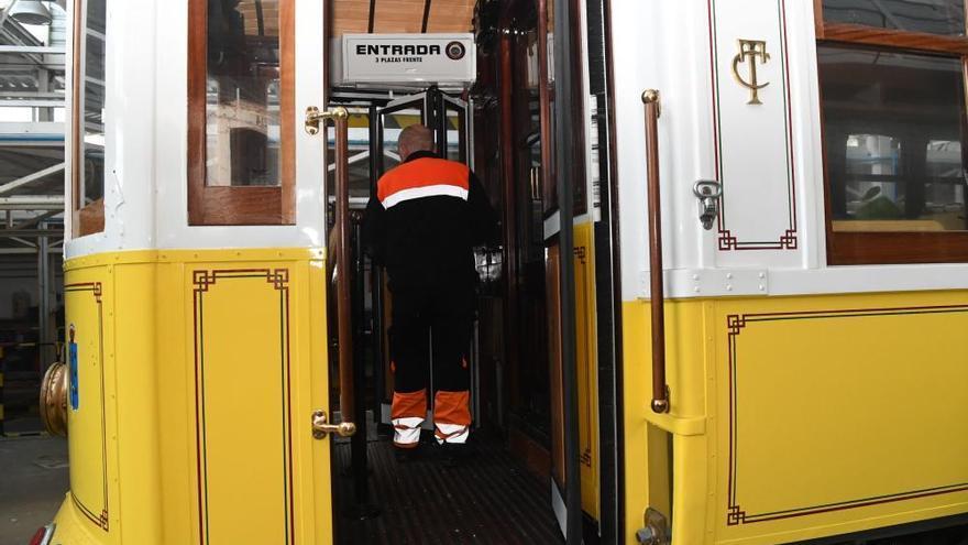 Tranvías reclama en el juzgado el pago por mantener el tranvía desde que no se utiliza
