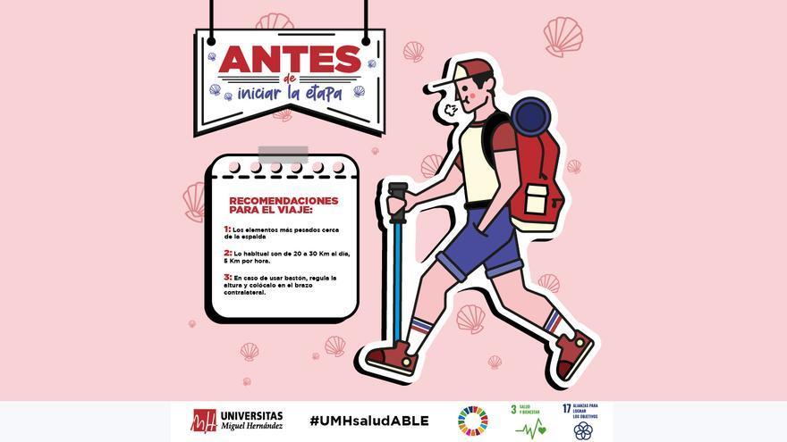 La UMH vuelve a estar presente en el Camino de Santiago con innovadoras iniciativas