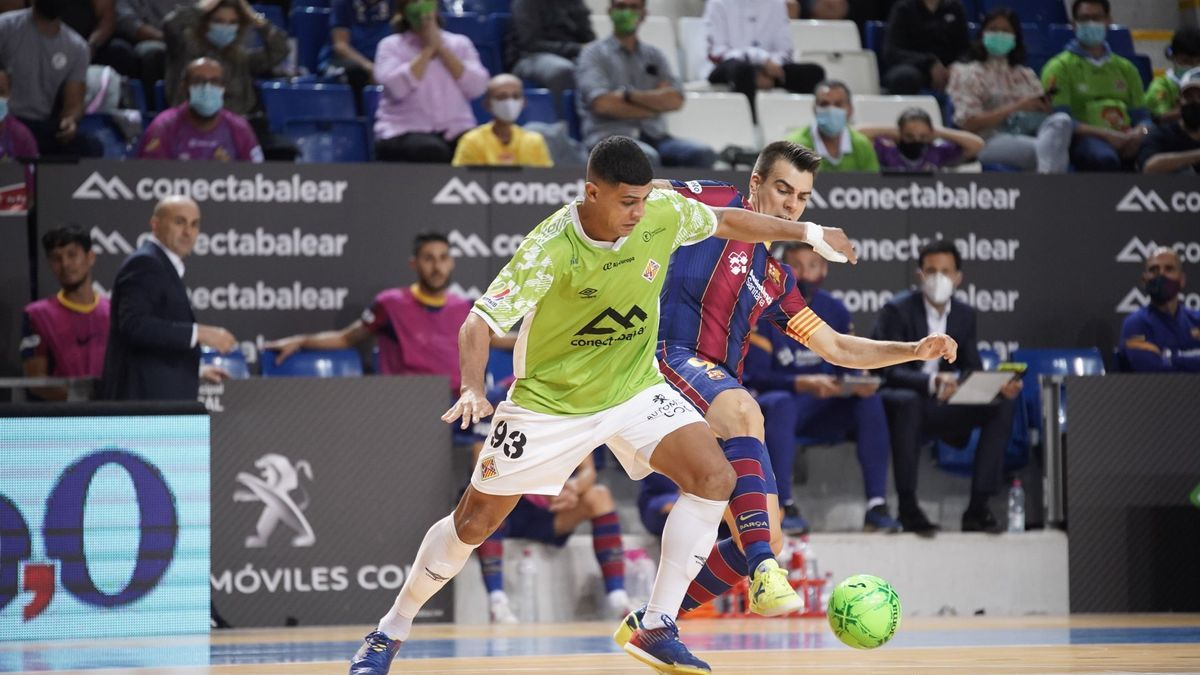 El Palma Futsal inaugura la temporada ante el Barça.
