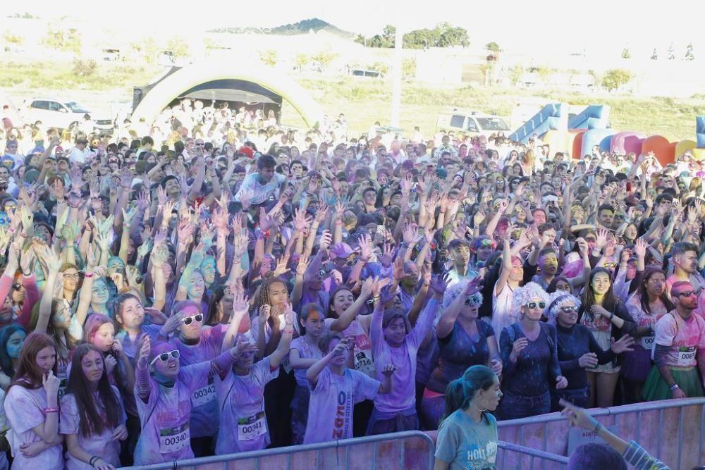 Sexta edición de la Holi Run en Cabezo de Torres