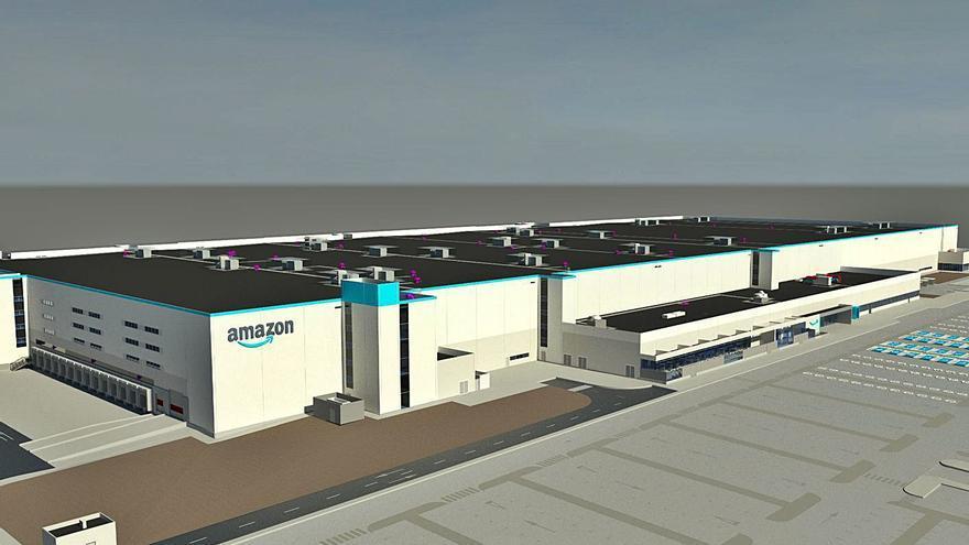 Amazon robotiza su nuevo megacentro de Onda y lo abrirá en primavera