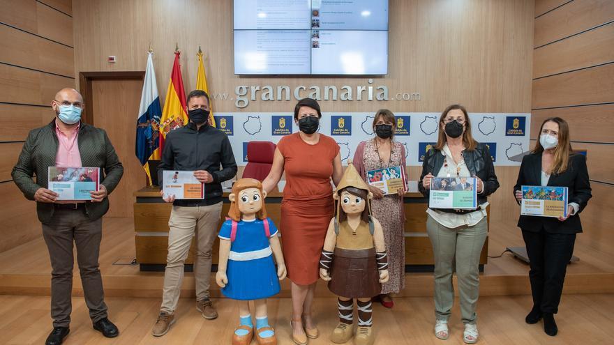 La riqueza de las fiestas, las costumbres y las tradiciones de Gran Canaria, a un solo click de la población infantil en la web de la Fedac