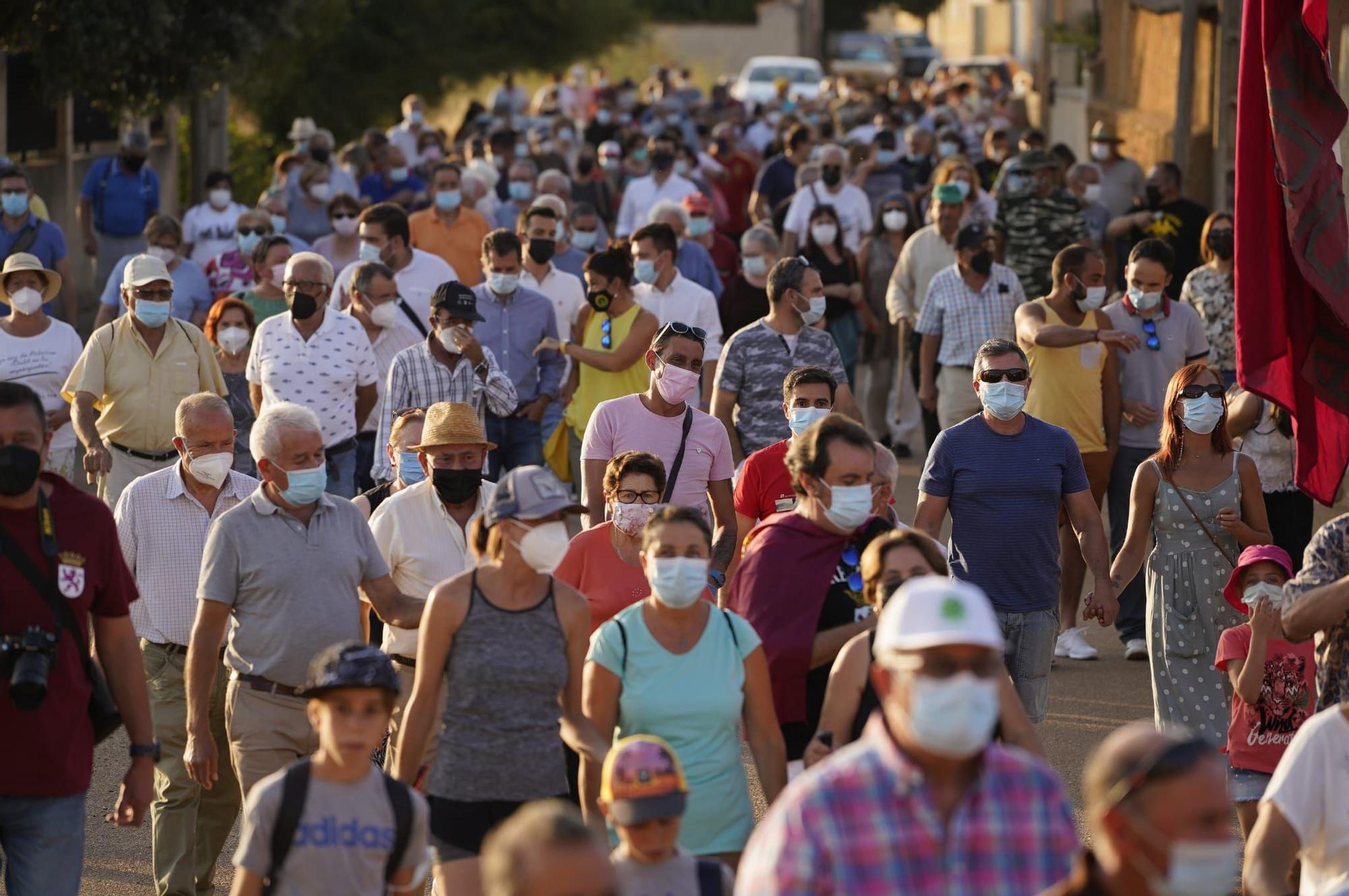 Manifestación contra el vaciado de Ricobayo.