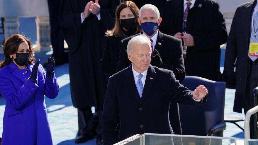 El mundo felicita a Biden y Harris tras su toma de posesión