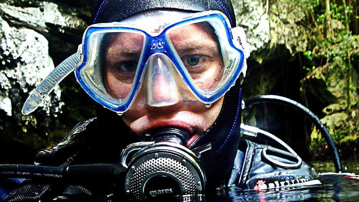 El biólogo marino Eduardo Salete.     E.D.