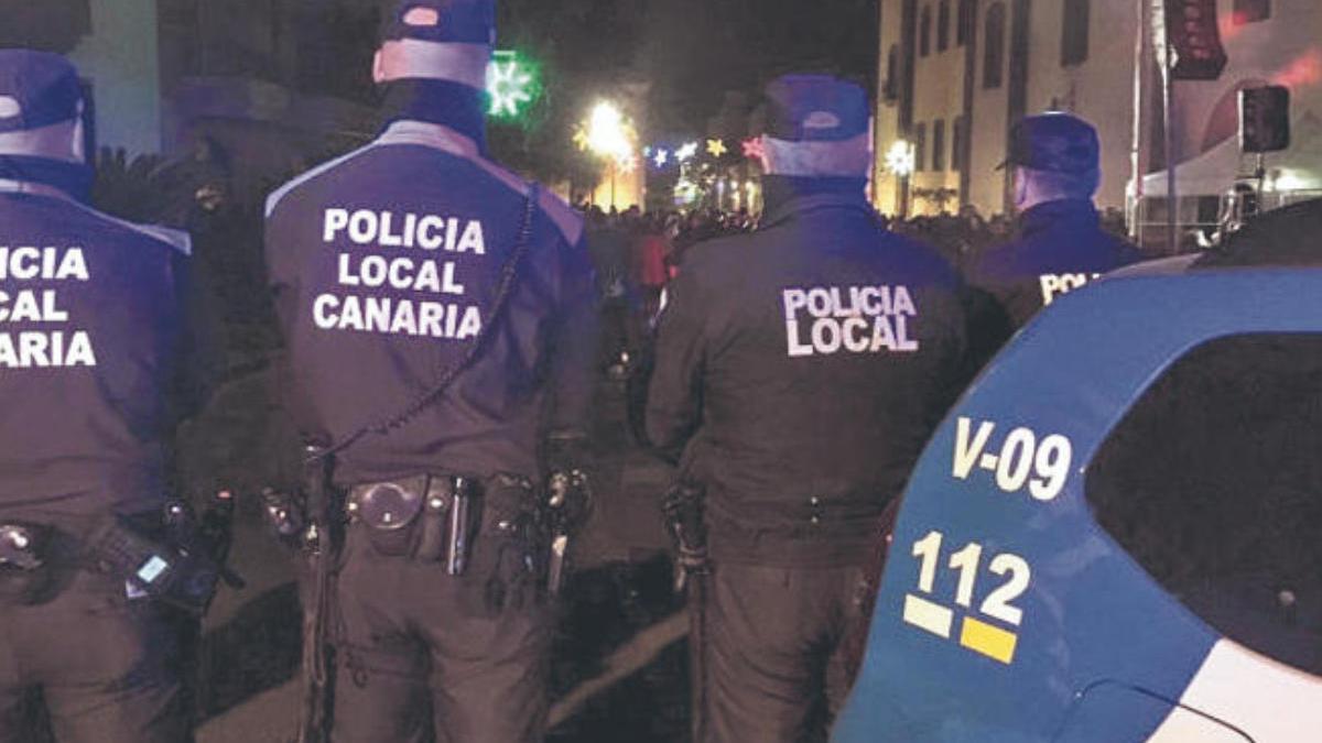 Amenazan de muerte a policías locales de La Laguna y al joven al que agredieron